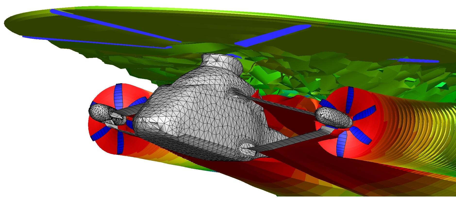 Simulation der Schallabstrahlung des RACER