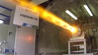 VISERION hybrid rocket engine test in Trauen; Credit: ©DLR. All rights reserved