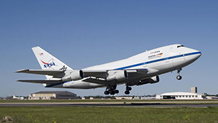 SOFIA Take-off