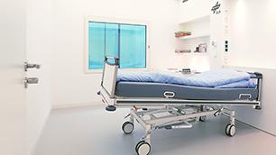 Bett mit 6Grad-Kopfneigung