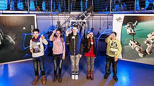 50000ste Schüler des DLR_School_Lab Köln