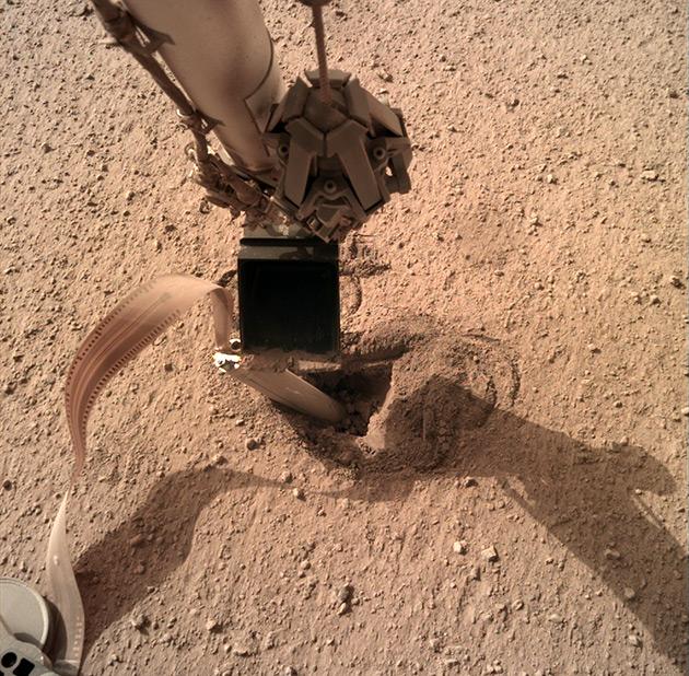 Mars-Maulwurf Insight