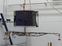 Philae in der Testanlage des DLR
