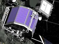 Philae-Lander an Bord der Rosettasonde