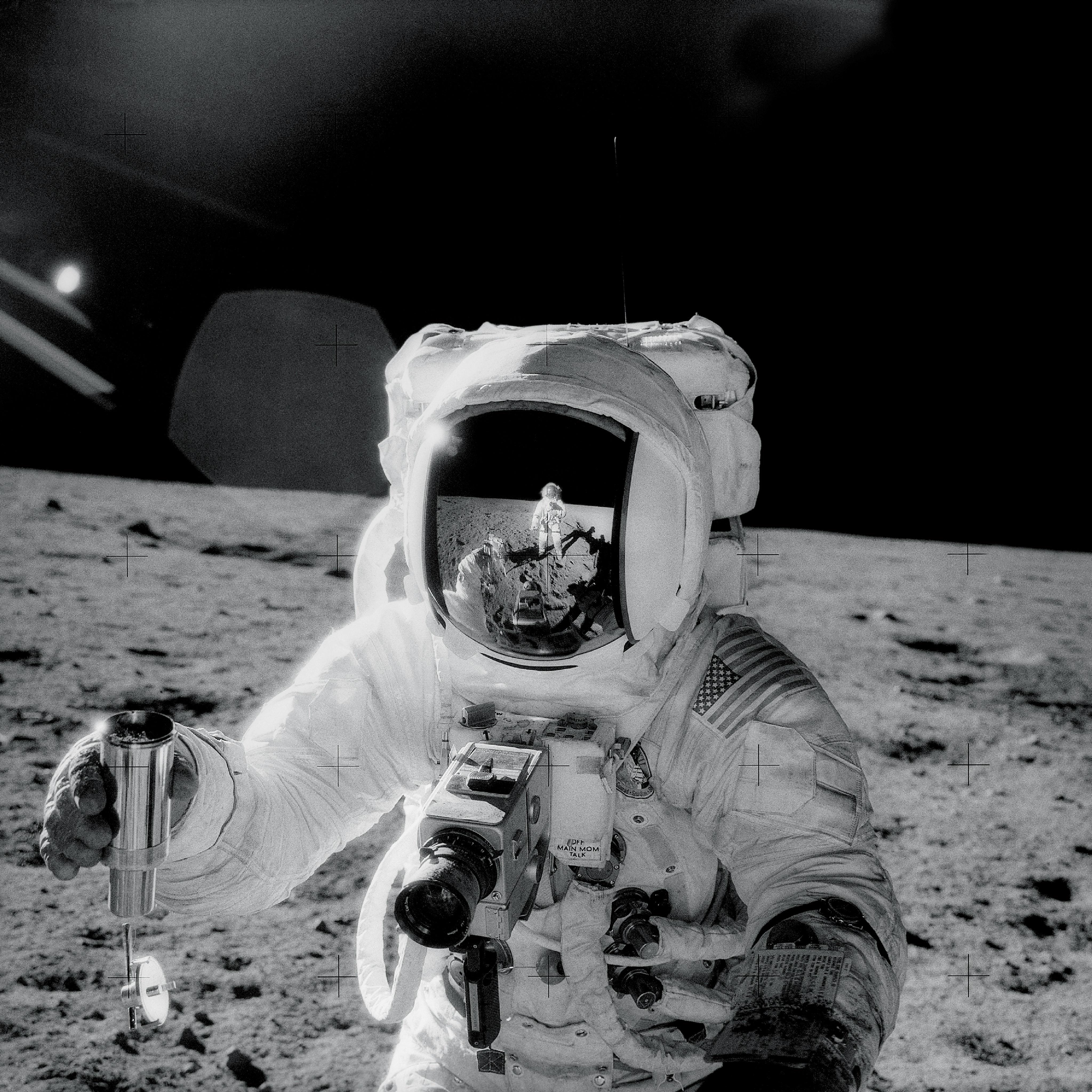 Bevor die Astronauten der Apollo 11 Mission den Mond