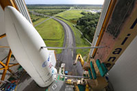 """Raumfrachter ATV%2d4 """"Albert Einstein"""" Ariane 5ES Rollout"""