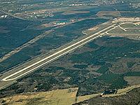 Landebahn Flughafen Frankfurt