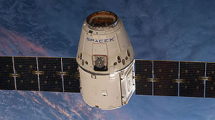 Der Raumtransporter Dragon (Space-X)