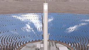 Noch ein Kraftwerk in der Wüste: Atacama 1