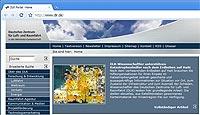 DLR Web Portal