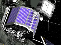 Philae%2dLander an Bord der Rosettasonde