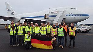 Das deutsche SOFIA- und GREAT-Team
