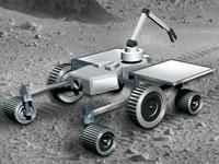 Zehn Teams aus ganz Deutschland entwickeln und bauen Weltraumroboter. Ihr Ziel: Das Rennen um den SpaceBot Cup gewinnen.
