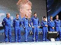Live-Übertragung im SpaceTweetup-Zelt