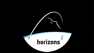 Das Logo der Mission horizons des ESA-Astronauten Alexander Gerst