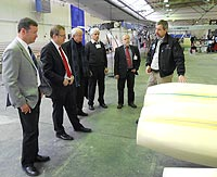 Besuch bei Solar Impulse