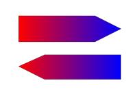 Gegenstromprinzip (Grafik). Bild: CC-BY KönigsPanda.