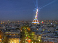 Paris bei Nacht