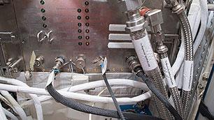 Planetensimulator MFX-2 vom DLR auf der ISS