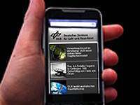 m.dlr.de: mobile version of the website now online!