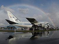SOFIA am Flughafen von Christchurch, Neuseeland