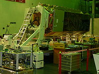 TanDEM-X in cleanroom
