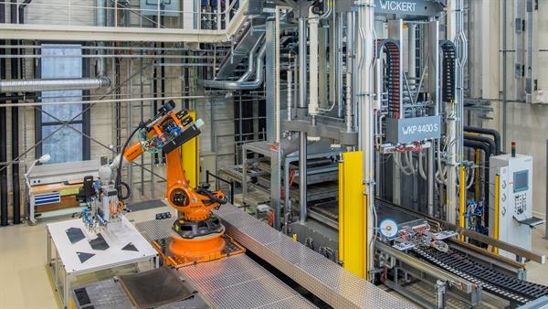 Temperaturbeständiger Roboter