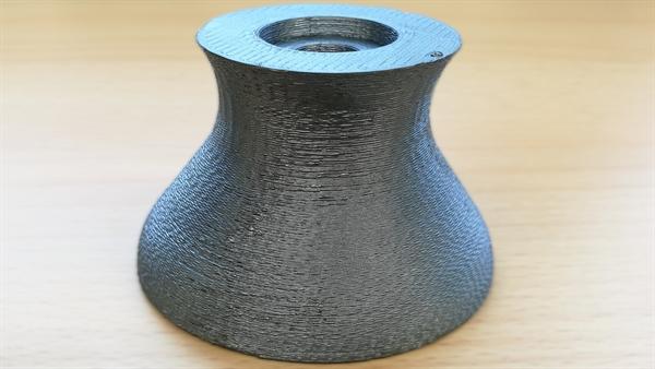 Additiv gefertigte Düsenhalsstruktur aus Siliziumcarbid