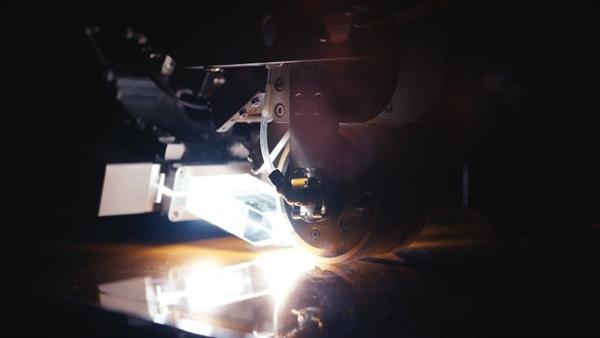 Blitzlichtbasiertes, thermoplastisches Automated Fiber Placement