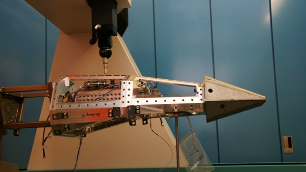 Dimensional  measurement of the Shefex1 missile