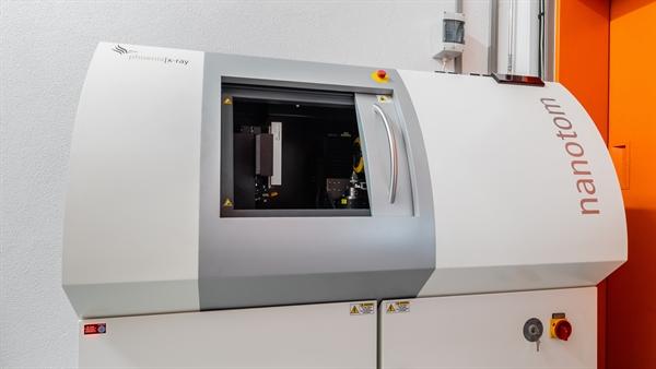 High resolution CT – nanotom