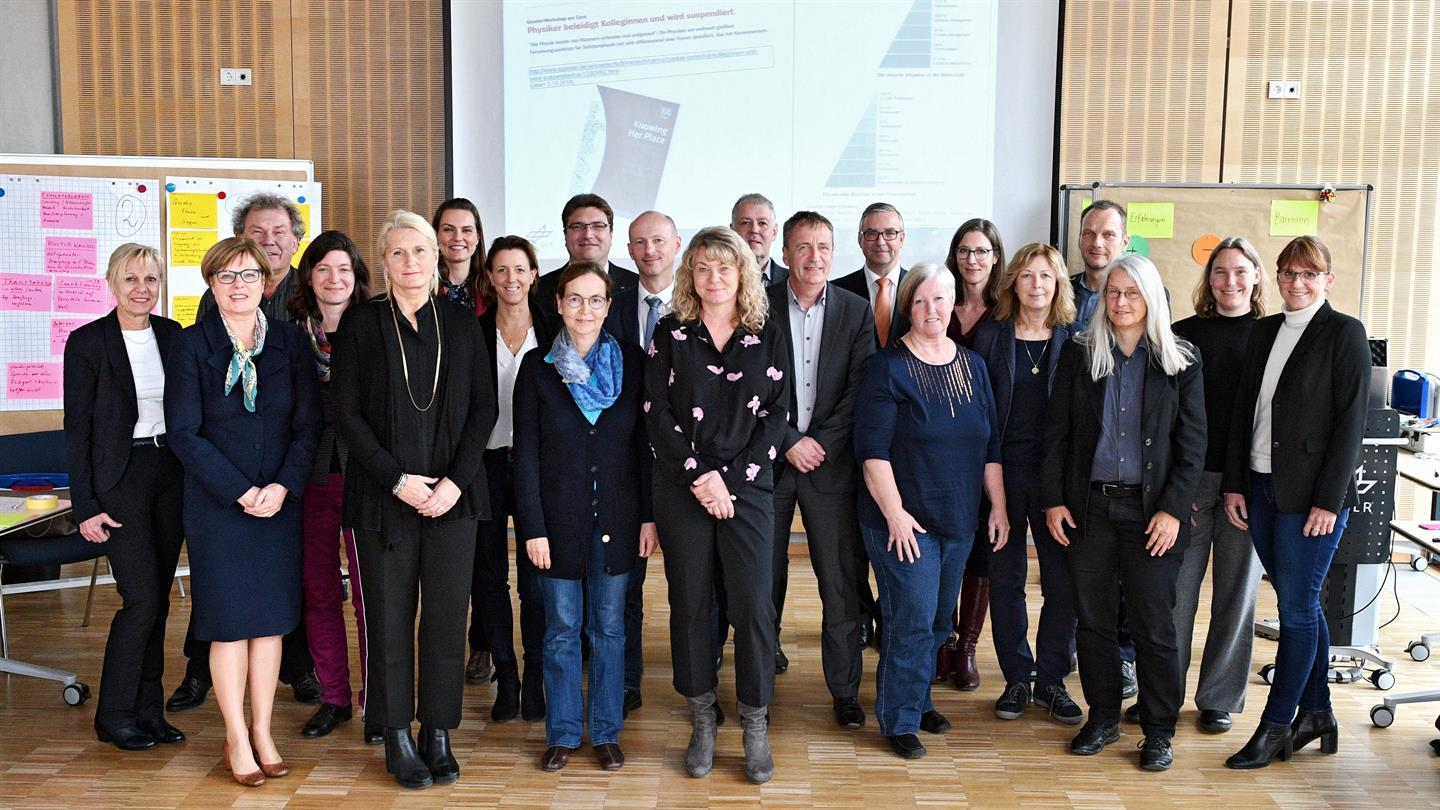 Gruppenfoto beim Gender Balance Workshop