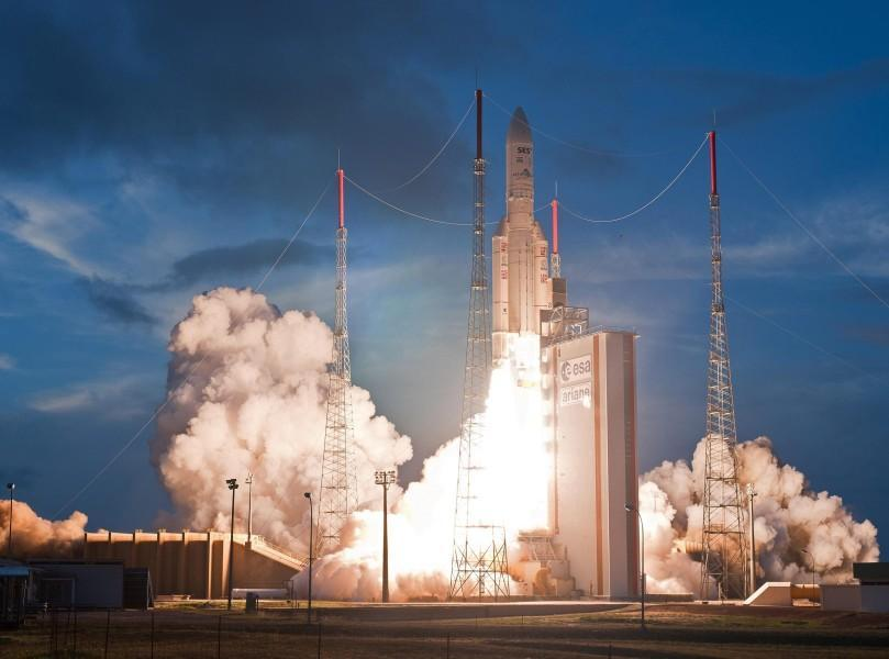 65. Start der Ariane 5