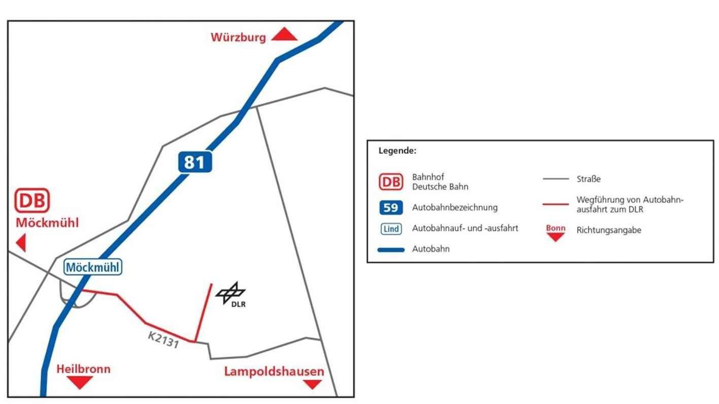 DLR Lampoldshausen - How to find us