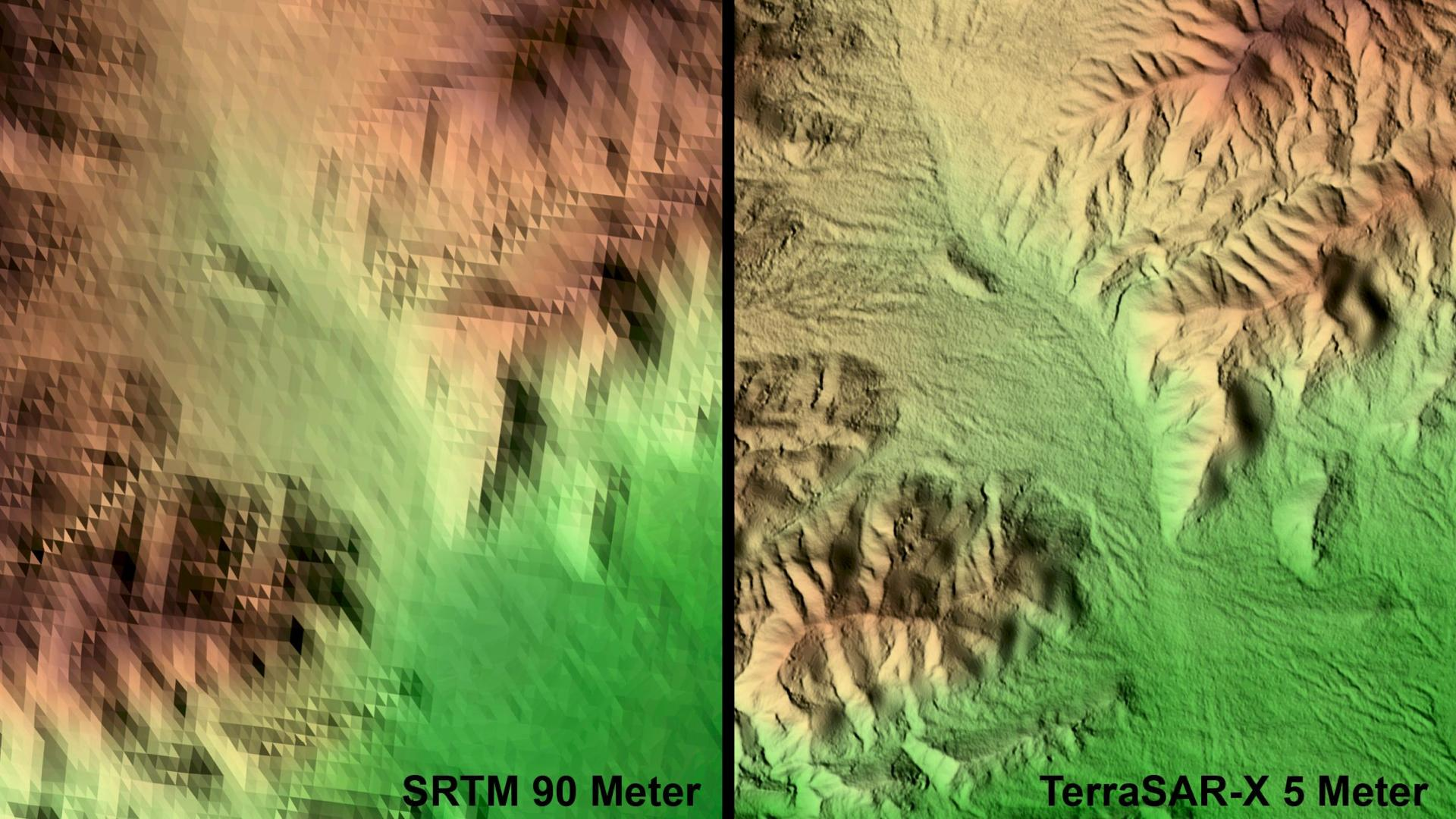 Las Vegas, USA – First TerraSAR-X Digital Elevation Model