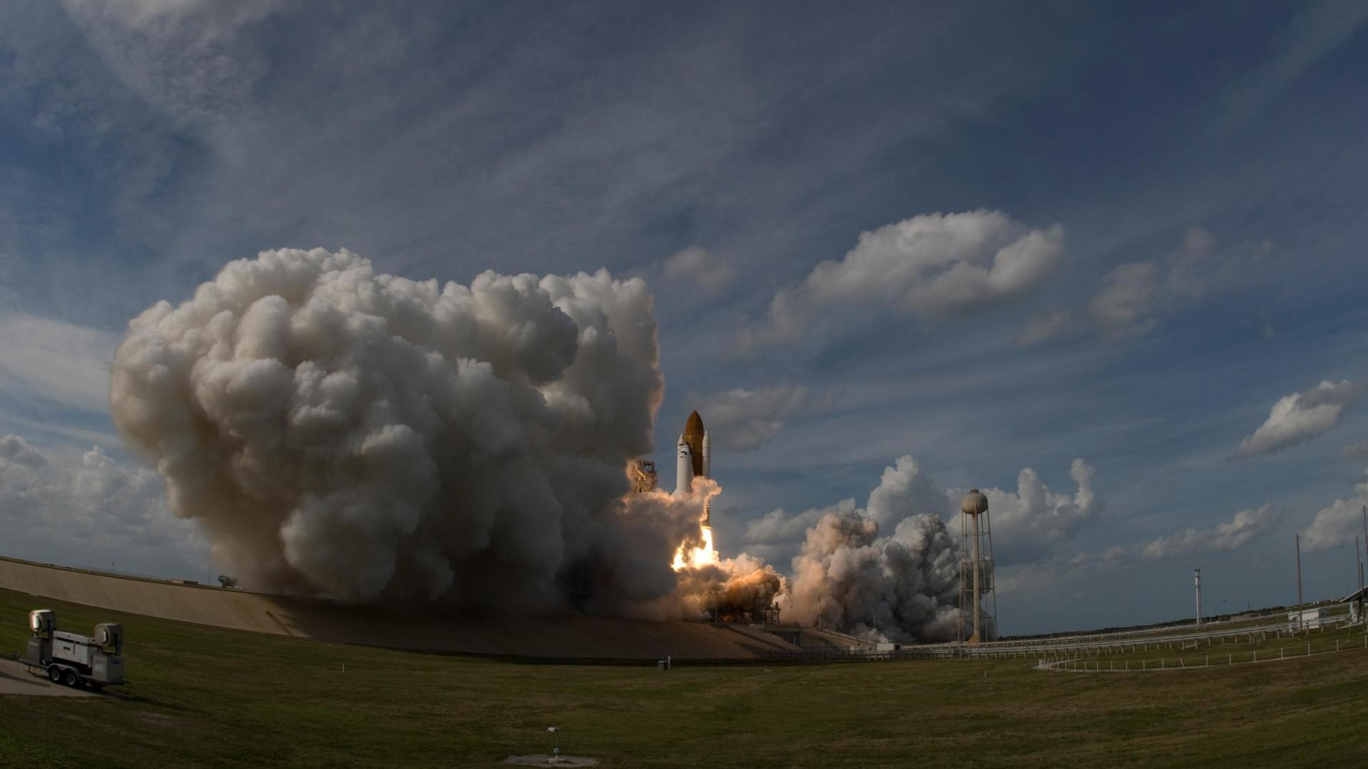 Space Shuttle Atlantis was launched on 7 February 2008