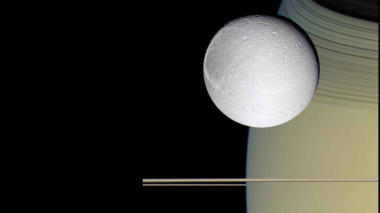 Dione in colour