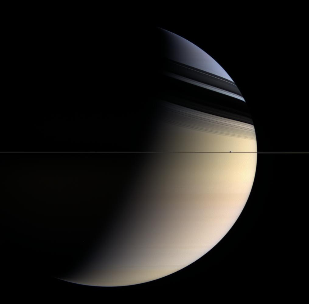 Saturn's subtle spectrum