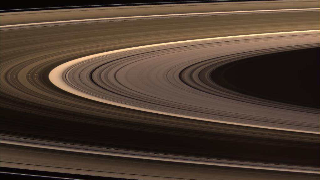 The rings - Saturn's trademark