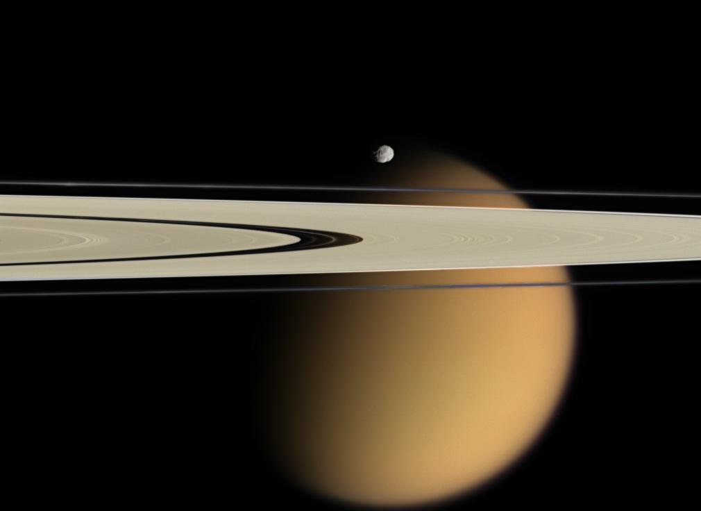 Titan and Epimetheus