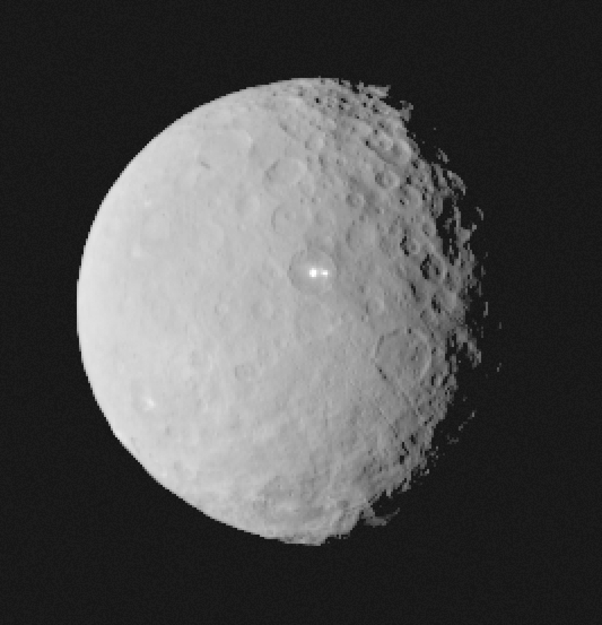Bright patches on Ceres