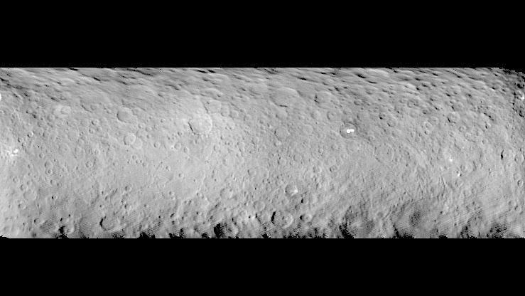Ceres – a surface covered in craters