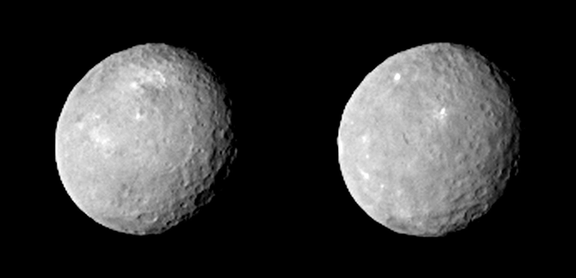 Two Faces of Ceres