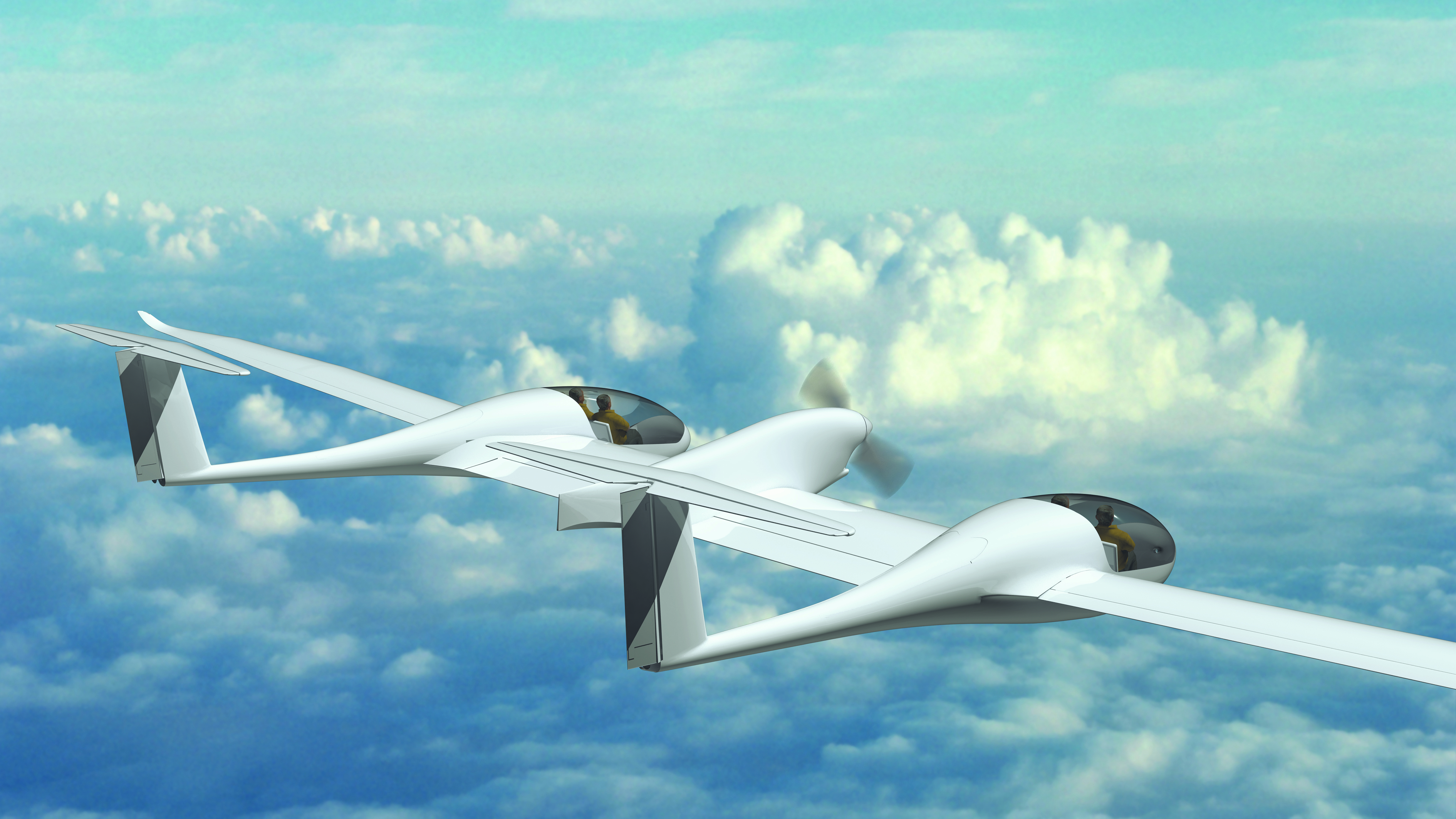DLR's four-seater fuel cell aircraft HY4
