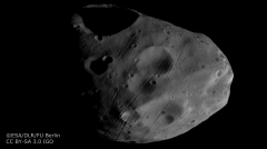 Image of Phobos acquired by the nadir channel of HRSC