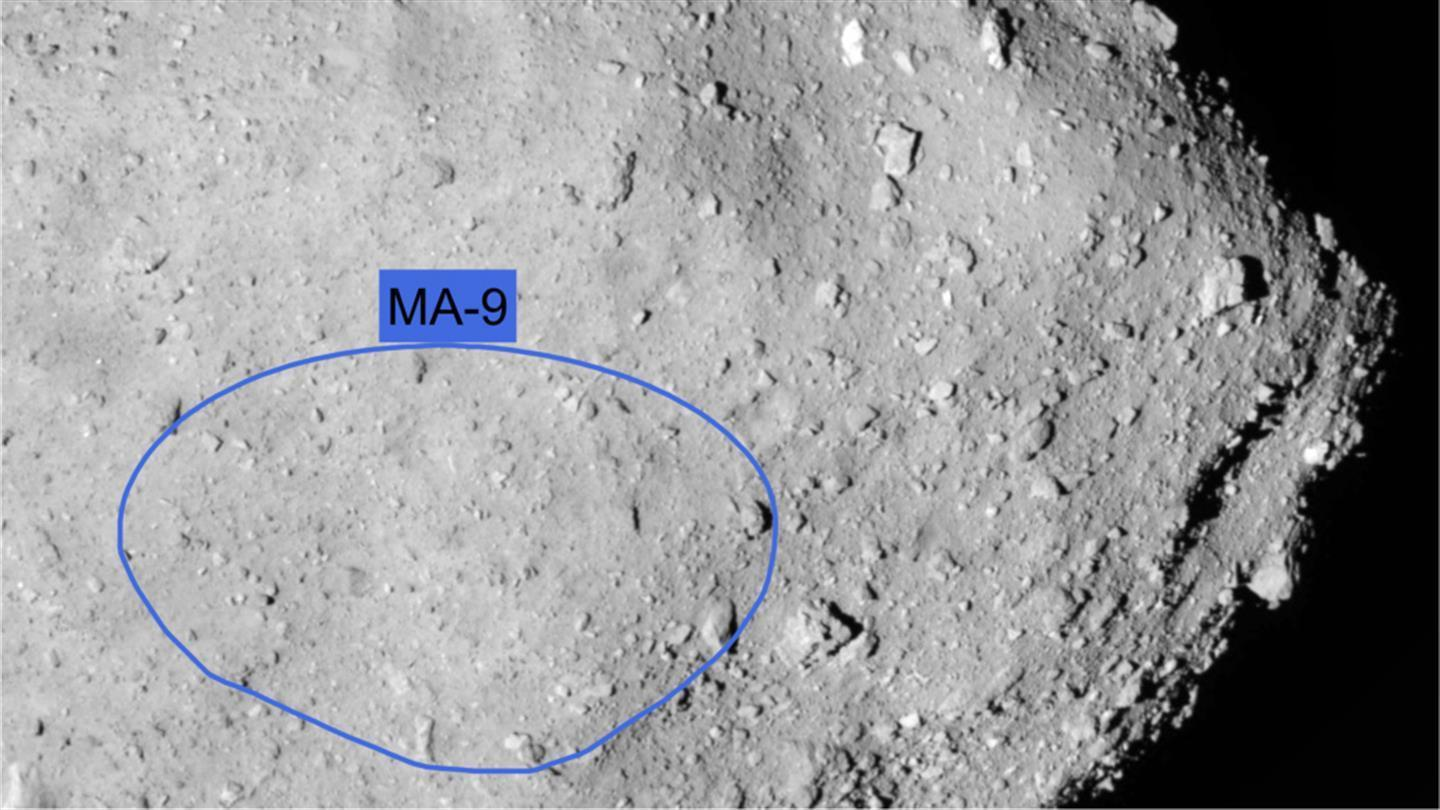 The landing site called 'MA-9'