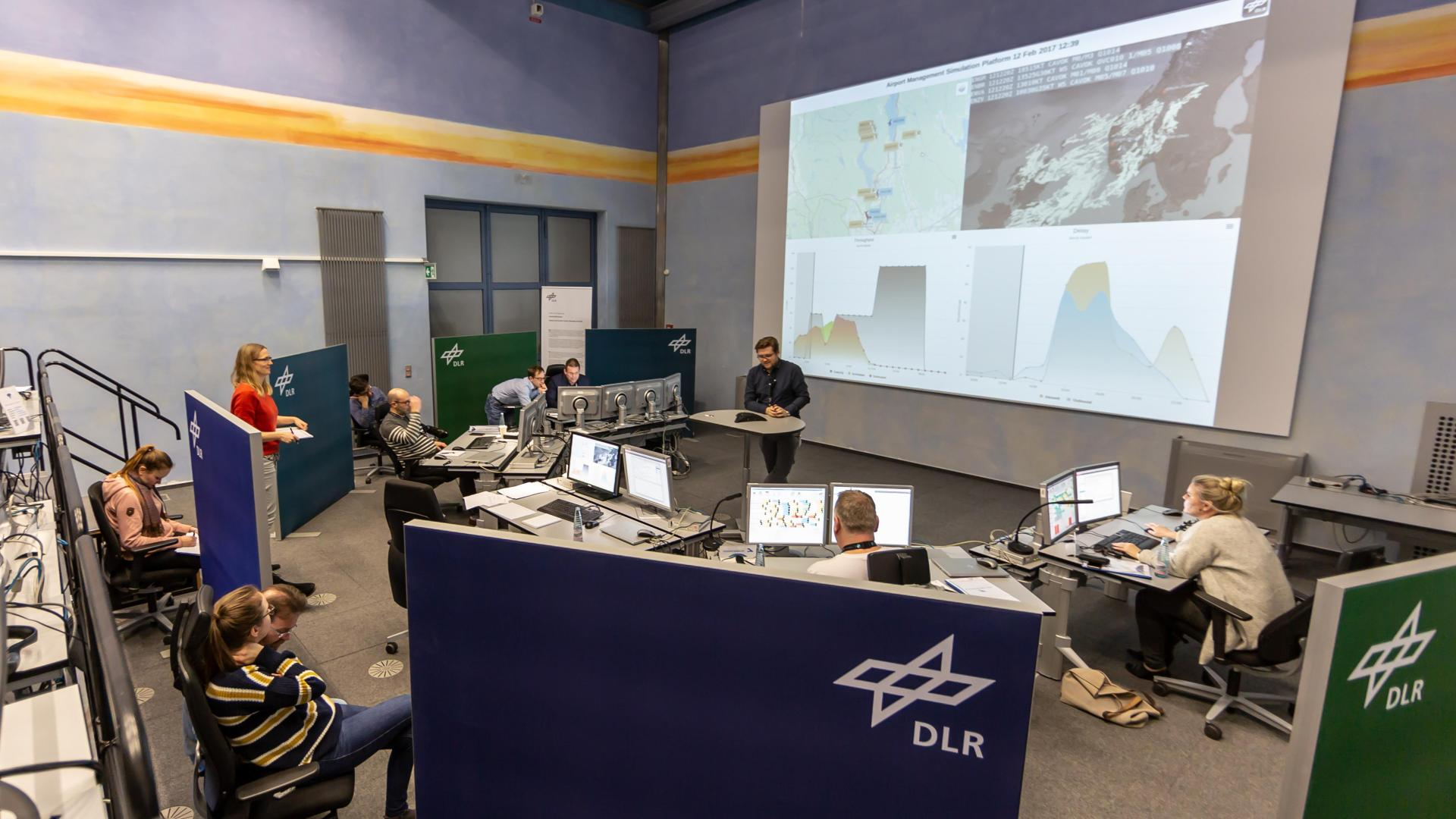 DLR Airport and Control Center Simulator