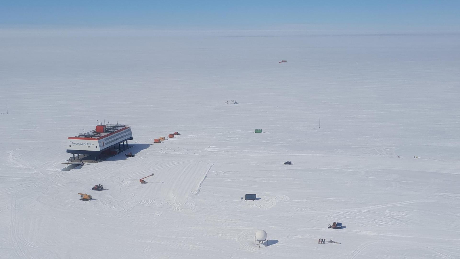 View of Neumayer III Station