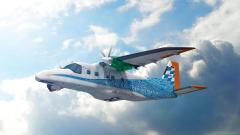 Artist's impression of the 'Electric Flight Demonstrator'