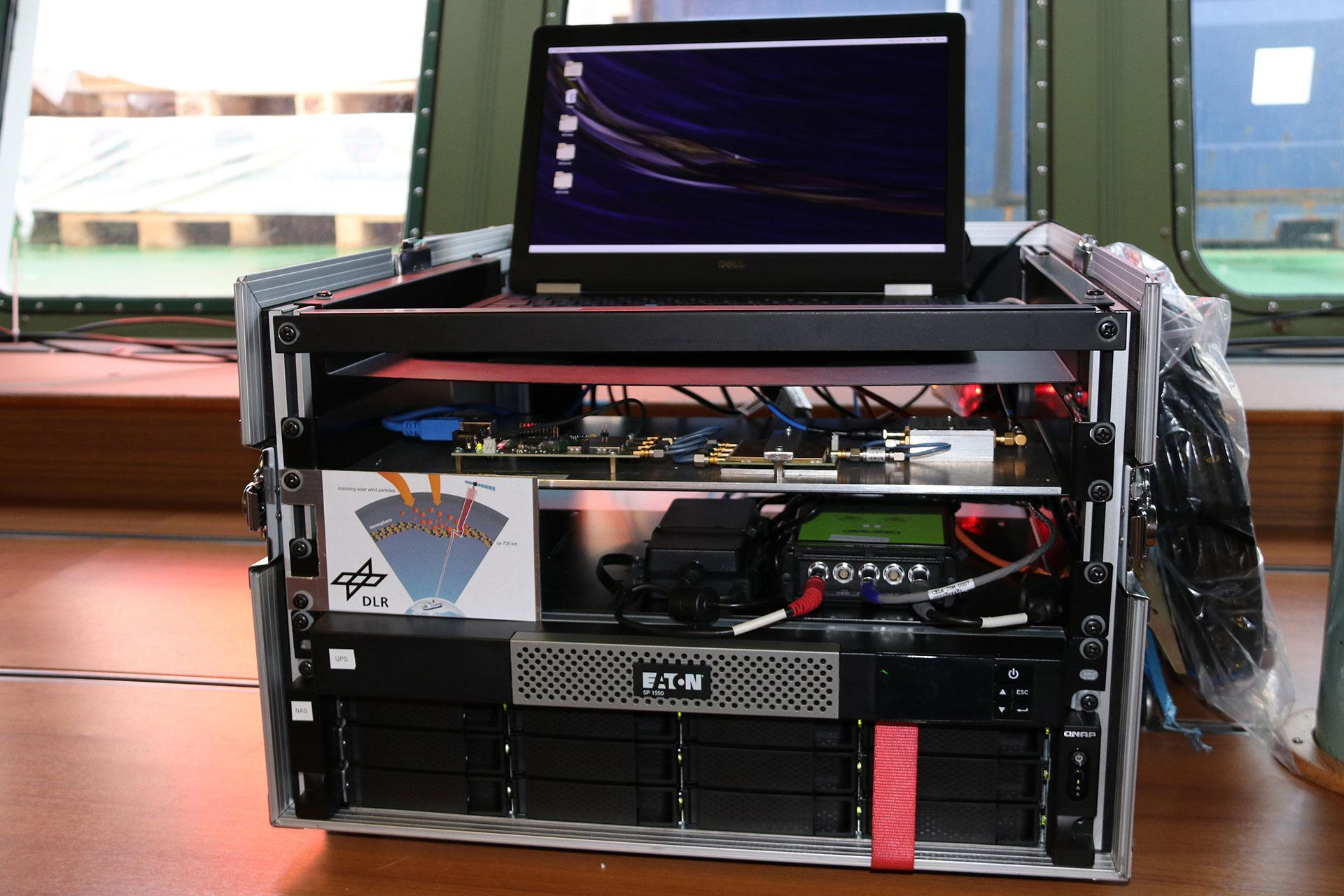 The heart of the DLR measurement system on board Polarstern